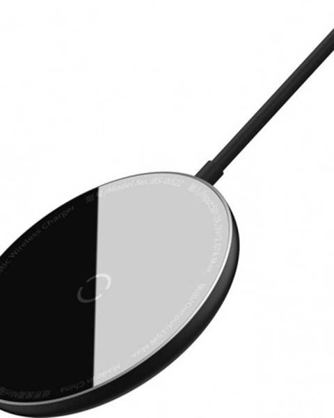 Apple Magnetická nabíjačka na iPhone 12 series SM Baseus, 15 W, čierna