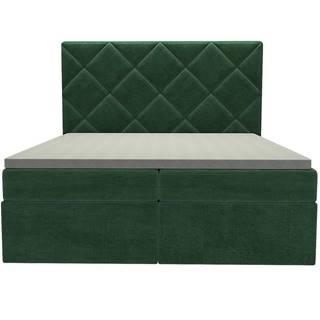 Posteľ Reja 160x200 Monolith 37 s vrchným matracom
