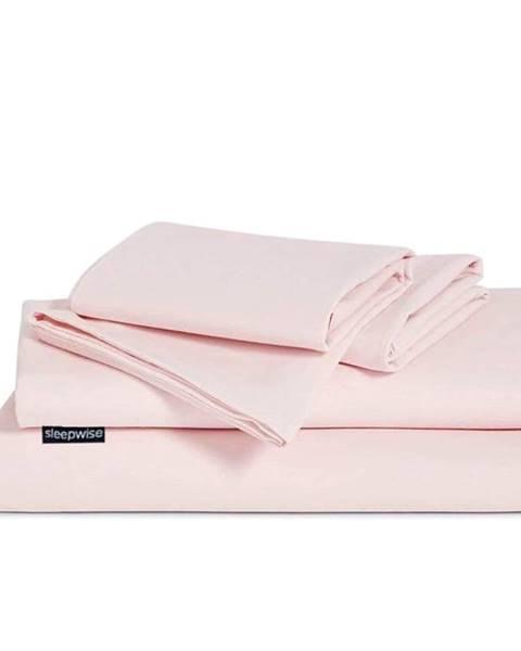 Sleepwise Sleepwise Traumwolle Biber, posteľná bielizeň, ružová, 135 x 220 cm, 80 x 80 cm