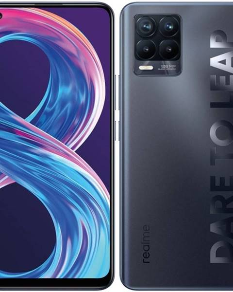 Realme Mobilný telefón realme 8 Pro - Infinite Black