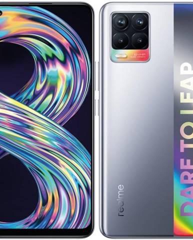 Mobilný telefón realme 8 64 GB - Cyber Silver