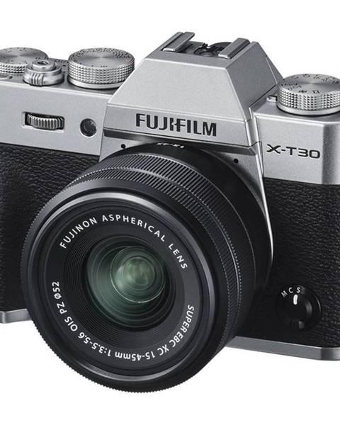 Fujifilm Digitálny fotoaparát Fujifilm X-T30 + XC15-45 mm strieborn