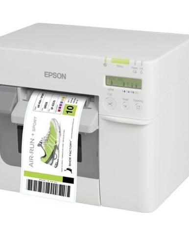 Tlačiareň štítkov Epson TM-C3500