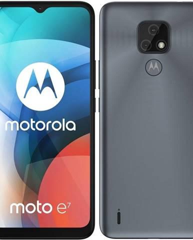 Mobilný telefón Motorola Moto E7 sivý