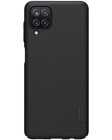 Kryt na mobil Nillkin Super Frosted na Samsung Galaxy A12 čierny