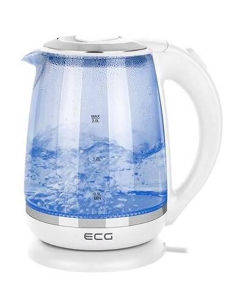 ECG Rychlovarná konvice ECG RK 2020 White Glass - bílá