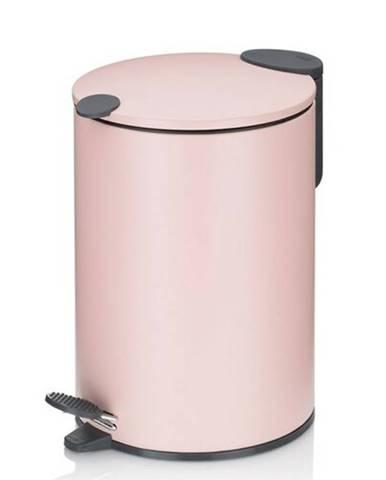 Kela Kozmetický odpadkový kôš MATS 3 l, ružová