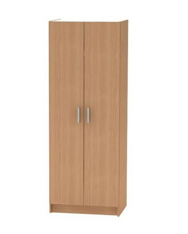 2-dverová skriňa vešiaková buk BETTY 7 BE07-009-00