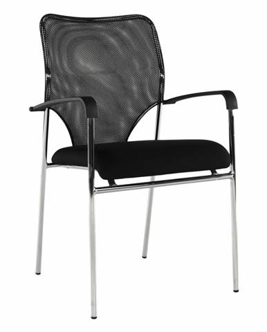 Zasadacia stolička čierna UMUT rozbalený tovar
