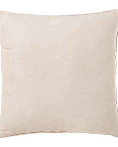 Béžový vankúš Unimasa Loving, 45 x 45 cm