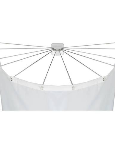 Kruhový držiak na sprchový záves Wenko Shower Umbrella