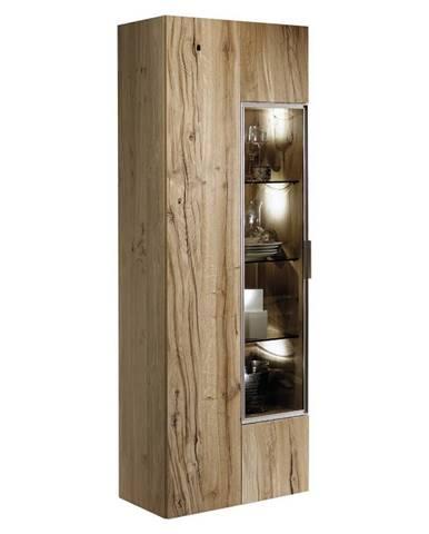 Voglauer VITRÍNA, staré drevo, dub, farby dubu, 64/194/42,3 cm - farby dubu