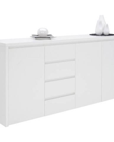Voleo KOMODA SIDEBOARD, biela, 192,2/92,2/45 cm - biela