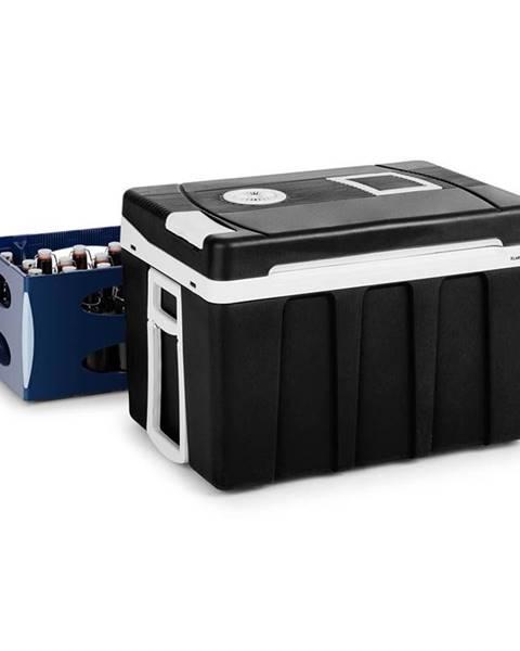 Klarstein Klarstein BeerPacker, termoelektrický chladiaci box s funkciou udržania tepla, 50 l, A+++, AC/DC, vozík, čierny