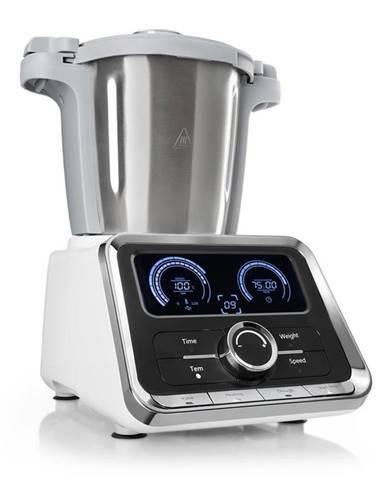 Klarstein GrandPrix kuchynský robot, 500W/1000W 2,5l, miska na miešanie z ušľachtilej ocele, biela farba