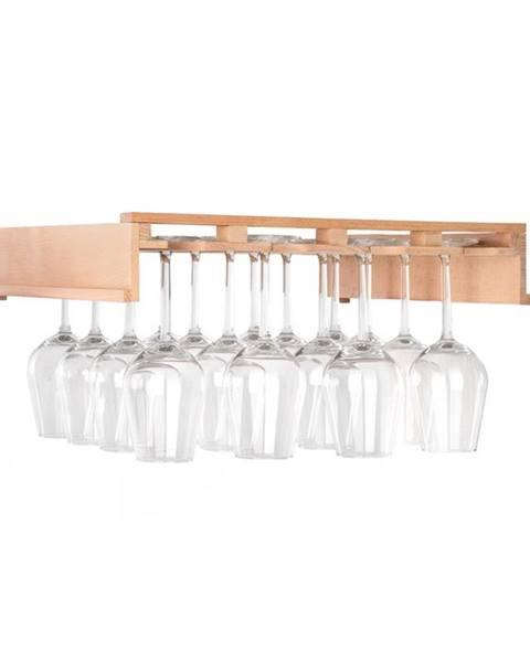 Klarstein Klarstein Barossa 102D, polica na poháre na víno, príslušenstvo, 4 kolajničky, pravé drevo