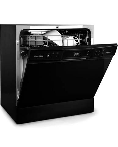 Klarstein Amazonia 8 Neo, stolná umývačka riadu, 8 programov, LED displej, čierna