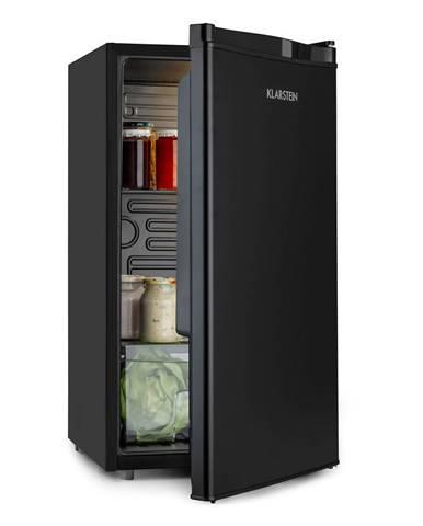 Klarstein Obsidian, chladnička, A+, 91 litrov, priečinok na zeleninu