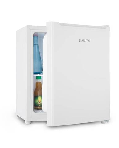 Klarstein Snoopy Eco, mini chladnička s mraziacim boxom, A++, 46 litrov, 41 dB, biela