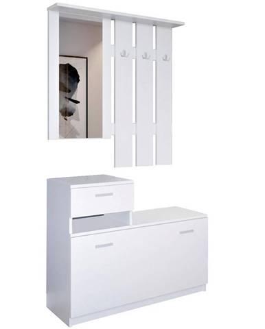 Predsieňový nábytok Vegas biely