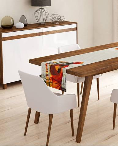 Behúň na stôl Minimalist Cushion Covers African Design, 45 x 140 cm