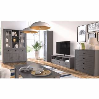 Provance obývacia izba sivá