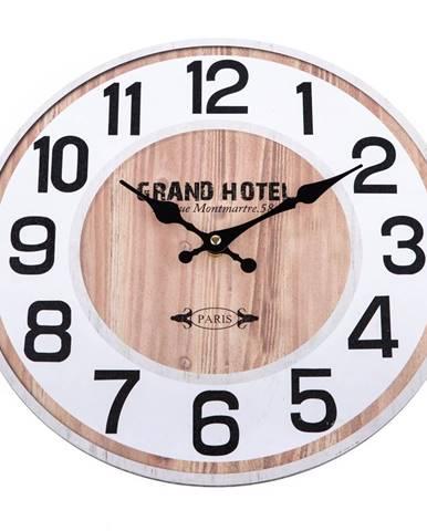 Nástenné hodiny Grand Hotel, 34 cm