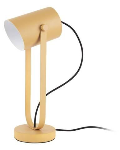 Žltá stolová lampa Leitmotiv Snazzy
