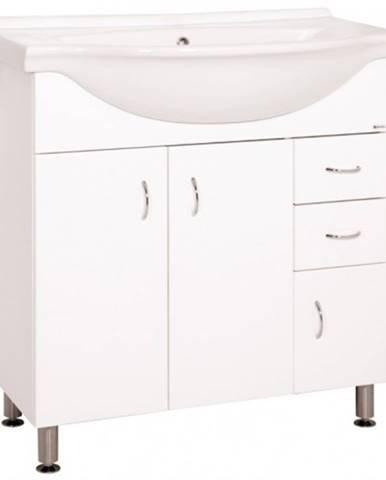 Kúpeľňová skrinka s umývadlom Cara Mia