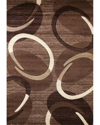 Spoltex Kusový koberec Florida 9828/02 brown, 80 x 150 cm