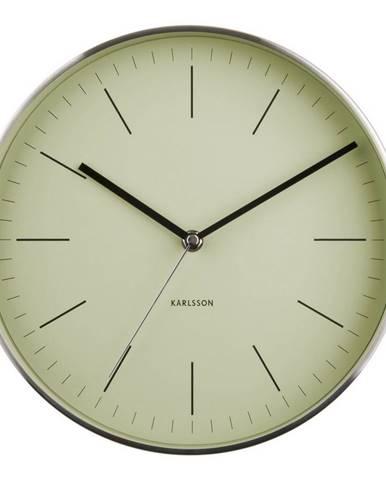 Karlsson 5732OG dizajnové nástenné hodiny, pr. 28 cm