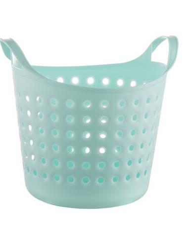 Plastový kôš Soft basket 4,1 l, mint