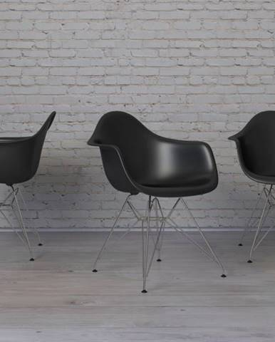 ArtD Stolička P018 /inšpirovaná DAR/ čierna