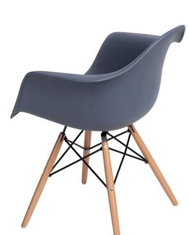 ArtD Stolička P018W /inšpirovaná DAR/ sivá