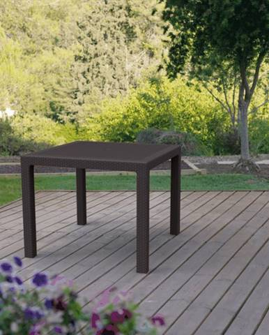ArtRoja MELODY quarted stôl - hnedý