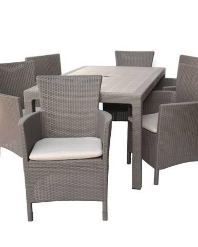ArtRoja MELODY stôl - cappucino