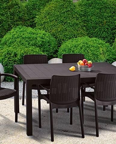 ArtRoja MELODY stôl - hnedý