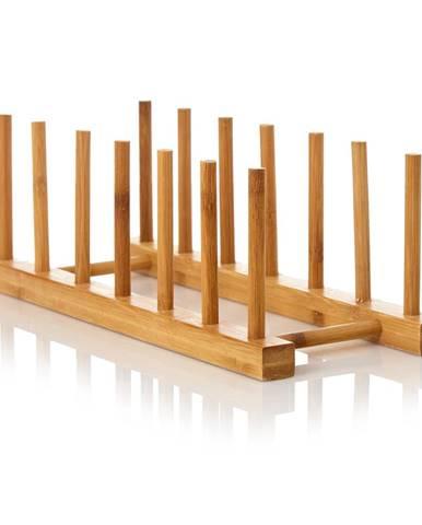 Klarstein Jednoduchá odkvapkávacia mriežka, 100 % bambus, 30 × 11,5 × 10,5 cm, necitlivá vodu