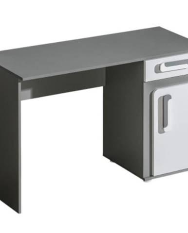Písací stôl Íróasztal Apetito 120 antracit nr-9