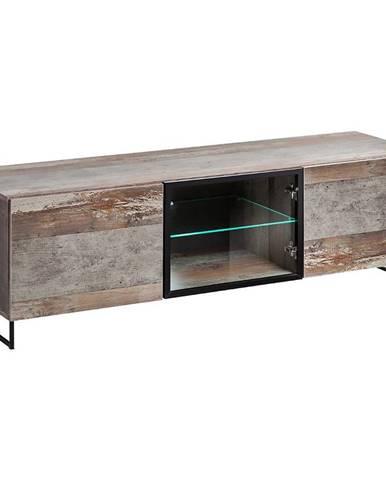 TV stolík Plank Canion Manor Wood