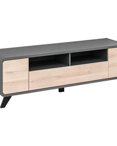 TV stolík Round Kronberg/Antracyt