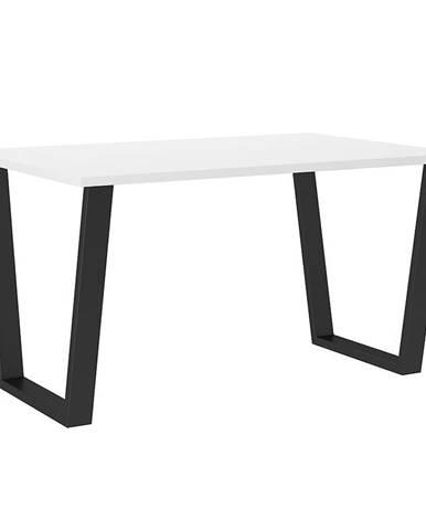 Stôl Cezar 138x90 – Biela