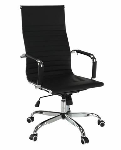 Kancelárske kreslo čierna AZURE 2 NEW
