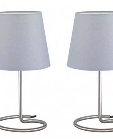 Stolná lampička - set 2 ks Twin R50272042, šedá%