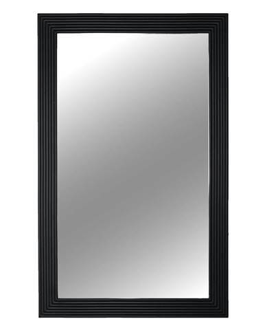 Zrkadlo čierny rám MALKIA TYP 1 poškodený tovar