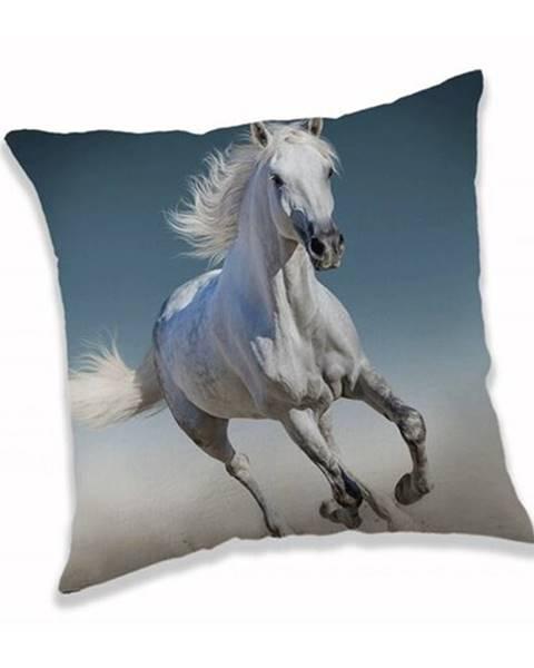 Jerry Fabrics Jerry Fabrics Obliečka na vankúšik White horse, 40 x 40 cm