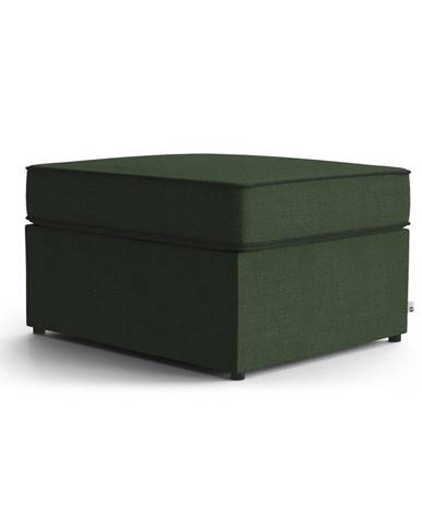 Zelená polstrovaná rozkladacia lavica My Pop Design Brady, 80 cm