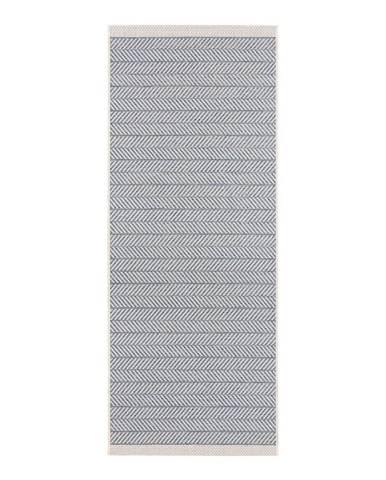 Modrý vonkajší koberec Bougari Caribbean, 70 x 200 cm