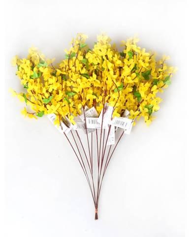 Umelá kvetina Zlatý dážď, sada 12 ks, HTH