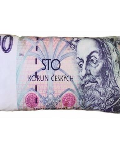 JAHU Vankúšik Bankovka 100 Kč, 35 x 60 cm